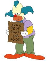 Will Drop Pants For Food by Simpsons-Addict