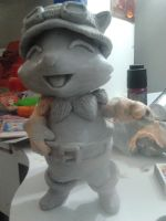 sculpture teemo by Erupto
