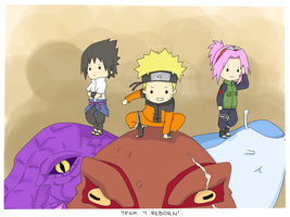 Team 7: REBORN! by almichi