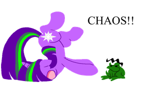 MLP:Chaotic Pranking by kiananuva12