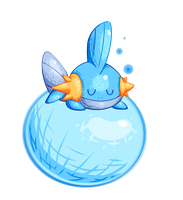 Mudkip by Lemon-Heartss