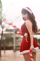 CANDY CANE MISS FORTUNE - BLONDIEE by BlondieeGaming