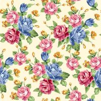 Seamless Floral Print 25 by DonCabanza