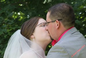 First Kiss by SJYagerPhotograpy