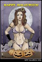 Happy Hallowe'en 2008 by CitizenWolfie