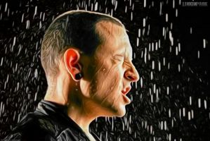 Chester in the rain by Linkin-Parks-park