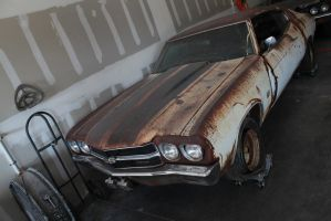 Patina, Rust, And An Unfortunate Chevelle. by KyleAndTheClassics