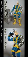 Custom MvsC Cable Figure by KyleRobinsonCustoms