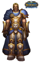 WoW Arthas Cut Out by atagene