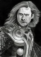 Thor by Hollyesque