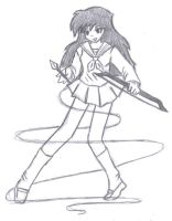 Kagome for WhishingStar by animalover4ever