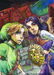 ACEO 3 - Last Sound of the... by HylianDragonCatty