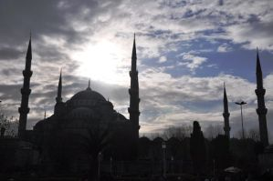 Blue Mosque by blackeyetolga
