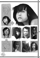 Face Value Studies by CatCouch