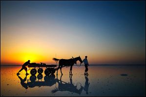 walking on the water-4 by salihguler