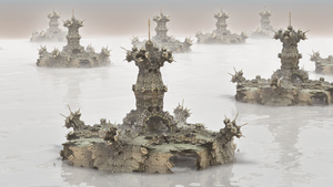 The Murky Lake of the Castles by hypex2772