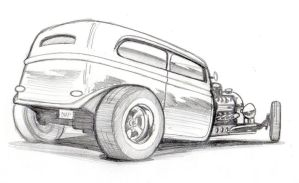 new hot rod pencils by chapstyle