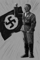 Hitler by L0n3WoLF