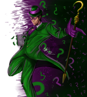 The Riddler by Beverii