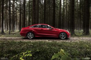 20131117 E400coupe Mbpassion 003 M by mystic-darkness
