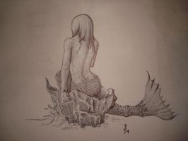 Mermaid at rest by Samaelt666