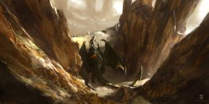 20150110 Dragonrider by psdeluxe