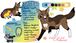 Tater 2013 by Mightyenapup