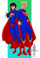 Superwoman Supergirl 1 by kclcmdr
