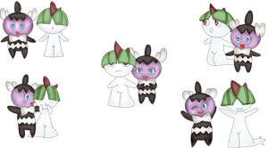 Ralts and Gothita