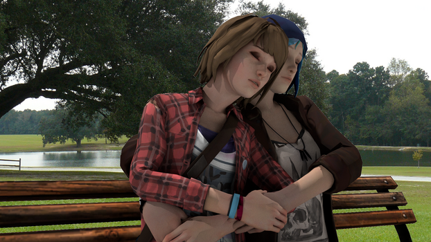 Pricefield on bench by AwkwardMassEffectFan