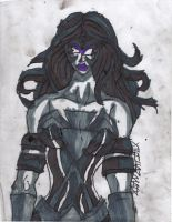 Black Lantern Wonder Woman by ChahlesXavier