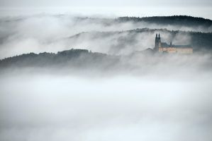 Banz Abbey by mescamesh