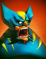 wolverine colored by wolf166