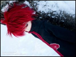 Sasori: Puppet in Snow by Elzamine