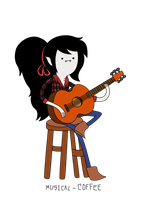 Marceline from -Marceline and the scream queens- by Musical-Coffee