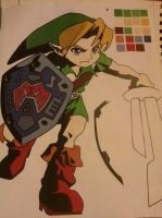 Majora's Mask Link by Venom2424