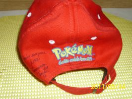 Autographs - My Ash Hat by PokemonTrainerLisa