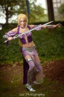 Warrior Rapunzel by Anatyla