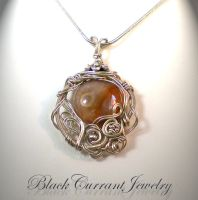Another Small Pendant by blackcurrantjewelry