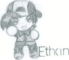 Chibi Ethan - Traditional by 789lol