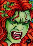 Poison Ivy Vampire by Christopher-Manuel