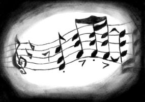 Charcoal Music by Linwen21490