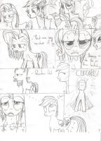 MLP Random Comic Strip 01 by PnFink