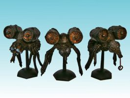 Nurgle Plague Drones by Nergling