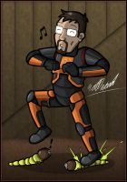 The Freeman by wibblethefish