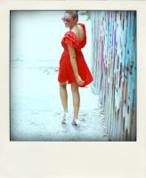 lady in red by hippychick7
