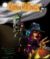 T or T + happy halloween by TT-RS