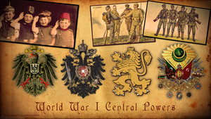 WW1 Central Powers by saracennegative