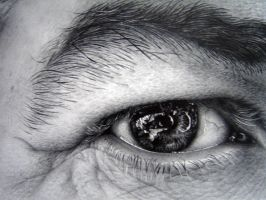 Eye study in pencil 2 by asariamarka