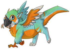 Baby KF! by Kingfisher-Gryphon